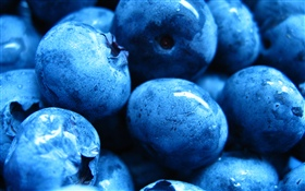 Some blueberries, fresh fruit HD wallpaper